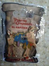 Disney Pin Soda Fountain DSF GSF El Capitan Pirates of Caribbean Stitch Hog Tied