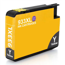933XL Generic Yellow CHIPPED Ink for use in hp Officejet 7110 7610 7612 Printer
