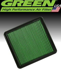 Green Filter USA 7050 High Air Flow Element Ford F-Series Pickup V8 Ecoboost V6
