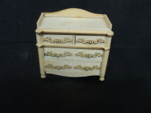 DOLLHOUSE NURSERY CHANGING TABLE- UNFINISHED WOOD