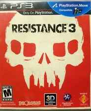 Resistance 3 (Sony PS3) Complete W/ MANUAL MINT DISC 《Ships Same Day》