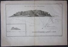 1774 MASAFUERO Isla Más Afuera Alejandro Selkirk Island captain Cook