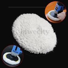 5inch 125mm Polisher Buffer Soft Wool Bonnet Clean Pad For Car Polishing Buffing