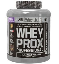 WHEY PROX PROFESSIONAL chocolate coco 2268gr NUTRYTEC PLATINUM PROTEINA