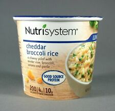 Nutrisystem Cheddar Broccoli Rice Lunches Expiration Date July  2021 Lot of 8