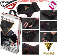 GLOVES ASUS PROFESSIONAL GAMES GAMING GAMDIAS AGON GAG1000 LYCRA ELASTIC