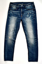 G-Star raw-esseentials RE TIPO C 3D sciolto tapered-vintage Look Jeans W33