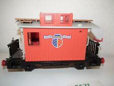 Playmobil Eisenbahn 4124 Cabose Schlusswagen Western  Spur G selten a. f. LGB