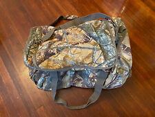 Fieldline Camoflauge Dufflebag Fusion 3D Outer Pockets Hunting Gear Bag