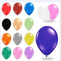 "QUALITY Latex BALLOONS 10"" inch Plain For Decoration Birthdays ballons baby"