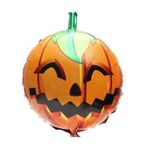 """5 X 18"""" Halloween Pumpkin Foil Balloons Halloween Party Decoration"""