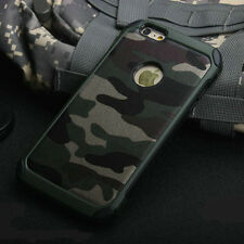 2 in 1 Army Camo Camouflage Hard Back Phone Case Cover For iPhone  6 7 8 Plus X
