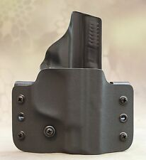 Smith & Wesson M&P Shield Kydex holster OWB 9mm 40 right hand black