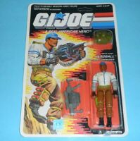 *RECARDED* 1988 GI Joe Hardball v1 Figure Complete Sealed *CUSTOM File Card Back
