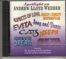 (CR895) Spotlight On Andrew Lloyd Webber - sealed CD