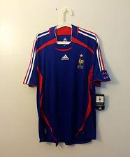 FINAL SALE! FRANCE 2006 WORLD CUP HOME JERSEY SHIRT TRIKOT SIZE XL ZIDANE