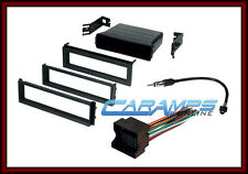 VW CAR STEREO RADIO KIT DASH INSTALLATION MOUNTING TRIM W WIRING HARNESS GLI GTI