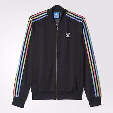 LGBT para hombre Adidas Originals Superstar Chaqueta de pista negro Talla M B30898