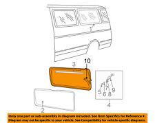 Dodge CHRYSLER OEM 84-94 B250 Side Panel-Weatherstrip Seal 4498169