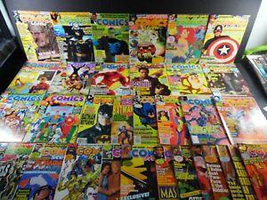 Comics Scene Magazine (1988) Lot of 33 Incl. 7-12, 16-18, 20, 22, 23, 25-30, 33-
