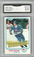 1981-82 Topps #39 Peter Stastny RC | Graded NM/MT + | Quebec nordiques