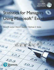 3 Days AUS Statistics for Managers Using Microsoft Excel 8th Levine Krehbiel 8E
