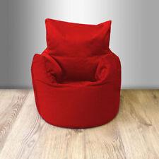 Poufs, poires et meubles gonflables rouge pour enfant
