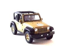 JEEP WRANGLER RUBICON, ARMOR SQUAD IDF, WELLY 1:38 DIECAST CAR COLLECTOR'S MODEL
