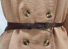 Maroon Thin Belt 101cm- B1088/CRB4370