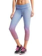 Athleta Multi Vivid Sonar Capri #212391 NWT S T ST Small Tall