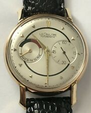 Vintage LeCoultre Futurematic with a Yellow Gold Top