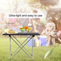Aluminum Alloy Folding Camping Picnic Table Lightweight Portable Festival