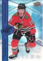2017-18 Upper Deck Ice #55 Jonathan Toews Chicago Blackhawks