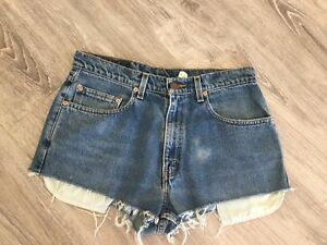 "Levi's Relaxed Fit Denim Shorts - 33"" Waist - New"