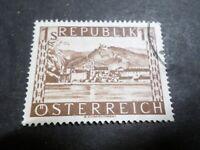 AUTRICHE 1945-47 timbre 629, DURNSTEIN, oblitéré