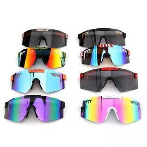 Pit viper riding Polarized Sunglasses color lenses outdoor sports glasses