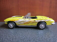 New Ray 1967 Chevrolet Corvette Convertible, Yellow, Loose; 1:43