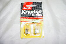 NOS Garrity K4 Krypton Flashlight Bulbs for 2-AA or 2C Batteries