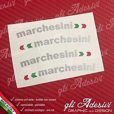 Adesivi Cerchi MARCHESINI + Bandierina Ducati Silver