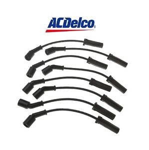 1PCS ACDELCO Spark Plug Wire Set FIT Cadillac Escalade/Chevrolet Avalanche1500..