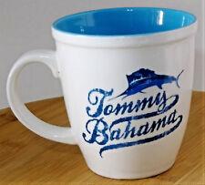 Tommy Bahama Coffee Mug Tea Cup 14 fl oz  Sailfish Light Blue inside 2006