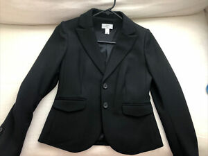 Ann Taylor Loft Black Blazer Sz 0P