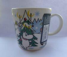 Moomin Arabia Finland Mug Winter 2013- Under The Tree - (Christmas) - New
