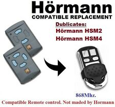 Hormann HSM2, HSM4 868Mhz (Blue Buttons only) Remote Control Duplicator