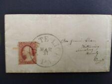 Pennsylvania: Slate Lick 1859 (circa) #26 Cover, Balloon Cds, Dpo Armstrong Co