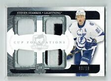 11-12 UD The Cup Foundations  Steven Stamkos  /10  Quad Patches  All-Star