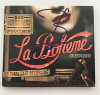 Baz Luhrmann Signed Autographed Puccini's La Boheme on Broadway Original Cast CD