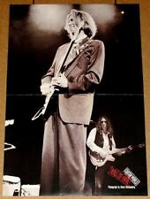 Eric Clapton Blues Rock Guitar Legend Early 90's Live Tribute Poster