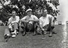 185288 Ben Hogan  Byron Nelson and Herman Keiser Decor WALL PRINT POSTER UK