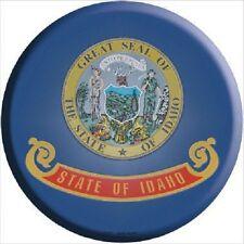Idaho State Flag Metal Circular Sign